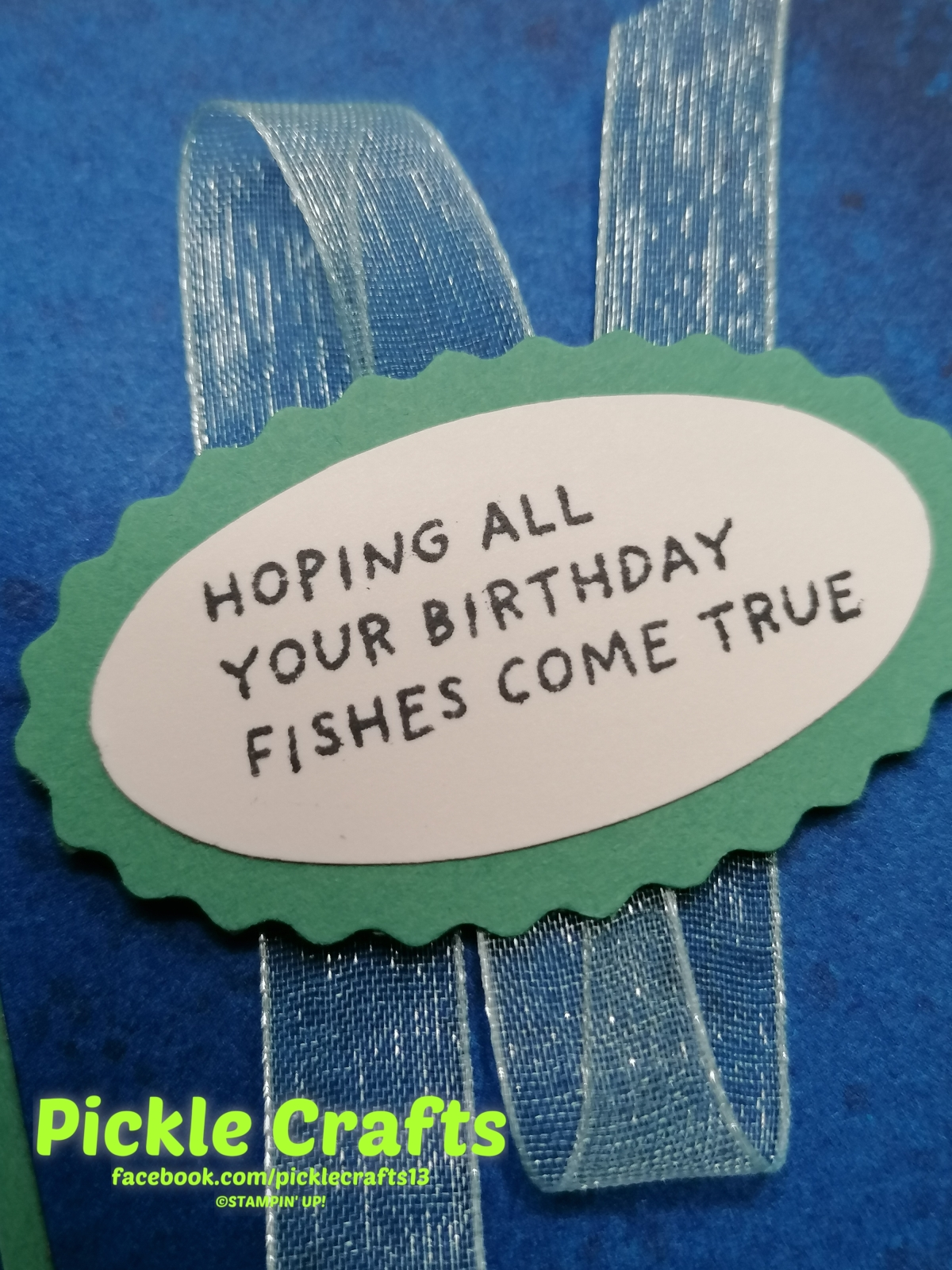 Birthday Fishes- Whale of aTime